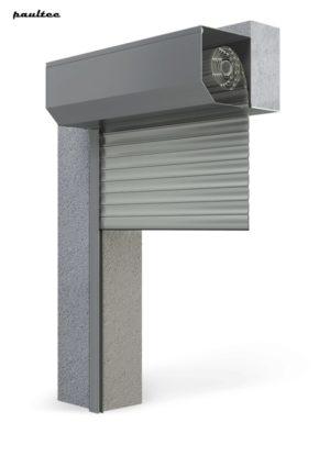 Garagentore Rolltore Grau - Antrieb Fernbedienung Zubehör