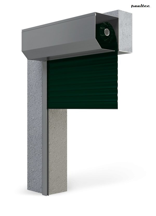 Garagentore Rolltore Tannengrün - Antrieb Fernbedienung Zubehör