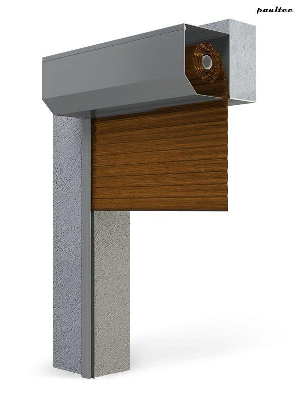 Garagentore Rolltore goldene Eiche - Antrieb Fernbedienung Zubehör